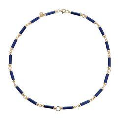 Tatiana Fabergé collier lapis lazuli