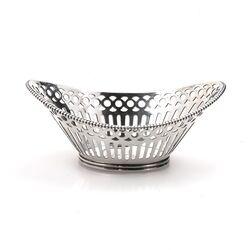 Klein zilveren bonbonmandje 1967