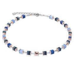 Coeur de Lion collier Swarovski® kristallen glas strass blauw