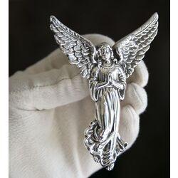 Zilveren beschermengel engel hanger