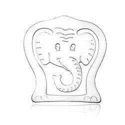 Hermann Bauer zilveren bladwijzer olifant
