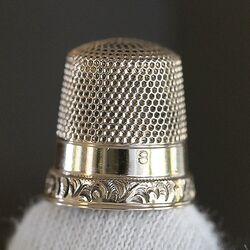gouden vingerhoed Ketcham & Mc Dougall New York