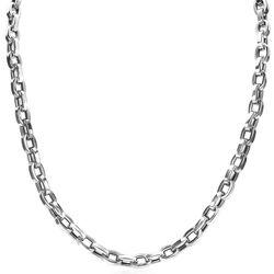Zinzi zilveren ketting met rechthoekige schakels ZIA1907