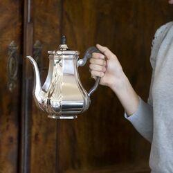 Koffiekan zilver versailles De Zilverfabriek