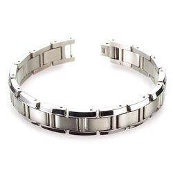 Boccia brede titanium armband 0337-01