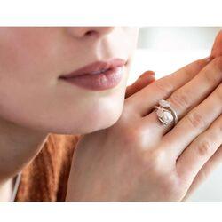Bastian Inverun zilveren ring Holy Blossom