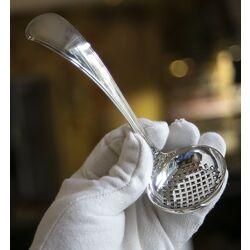 zilveren suikerstrooier dubbelrondfilet