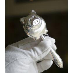 rammelaar varken zilver