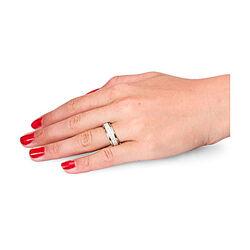 geel gouden alliance ring met 74 briljanten