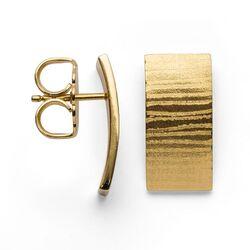 Bastian Inverun verguld zilveren Design oorstekers 27790