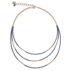 Coeur de Lion collier Waterval Antraciet