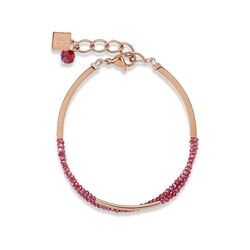 Coeur de Lion armband waterfall red
