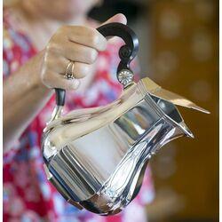 zilveren kan klepkan met contragewicht versailles bolpas
