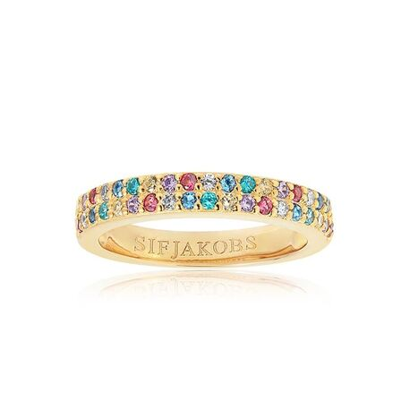 Sif Jakobs Corte Due ring multicolor R10762
