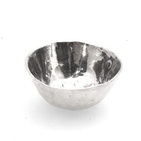 Miniatuur kom zilver 18e eeuws