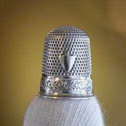 Vingerhoed zilver Gabler Duitsland
