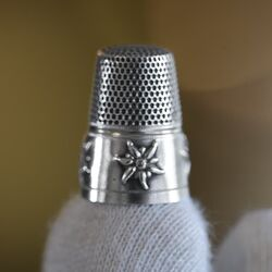 vingerhoed van zilver edelweis Gabler Duitsland