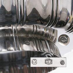 Christa Ehrlich zilveren bonbonschaaltje op voet