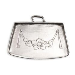 18e Eeuws miniatuur zilveren blik