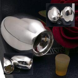 zilveren peper en zoutstel strooibusjes Van Kempen