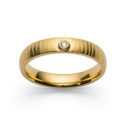 Bastian Inverun verguld zilveren ring 28070