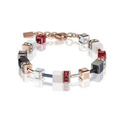 Coeur de Lion armband rosé wit en rood