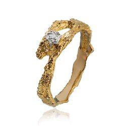 Lapponia gouden Pond ring diamant 111016