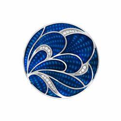 MY iMenos 33 mm insignia blauwe lotus 33-1649