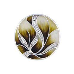 MY iMenso 33 mm cover olijf-groene lotus 33-1645