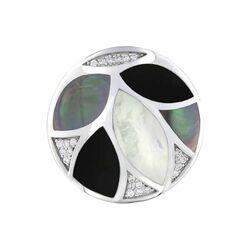 MY iMenso 33mm insignia zee bladeren zwart-wit 33-1651