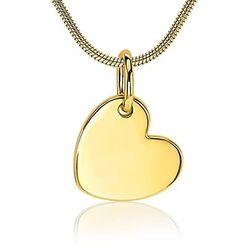 Zilveren hanger hartje geel verguld