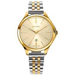 Classy horloge 34mm goudkleurige wijzerplaat