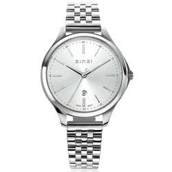 Classy horloge 34 mm zilverkleurige wijzerplaat ziw1002