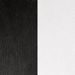 Les Georgettes 12 mm ringen inlay zwart wit