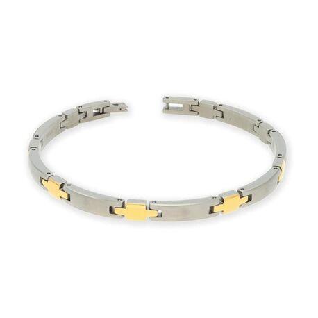 Boccia bicolor armband plus schakels 03026-02