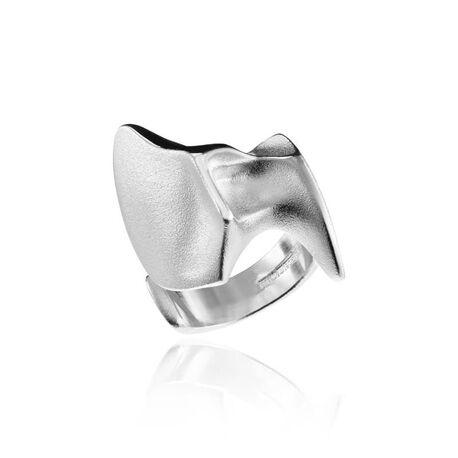 Lapponia zilveren Pegaus ring