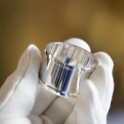 Kindermaat zilveren servetring direct graveerbaar door Zilver.nl