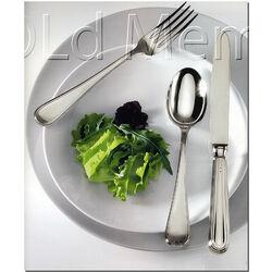 Zilver dessertmes dubbelfilet Schiavon inglese