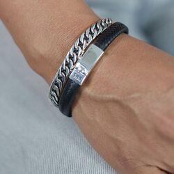 Silk Double Linked armband 118
