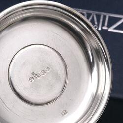 zilveren kandelaar 1953 Christa Ehrlich de Zilverfabriek