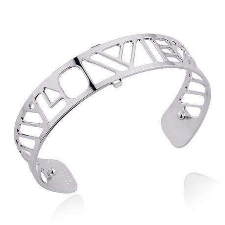Les Georgettes 14 mm stalen armband LOVE