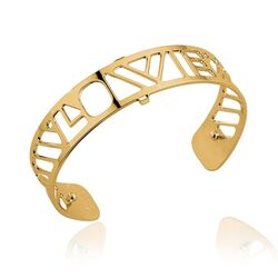 Les Georgettes 14 mm vergulde armband LOVE