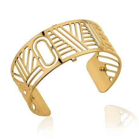 Les Georgettes 25 mm vergulde armband LOVE