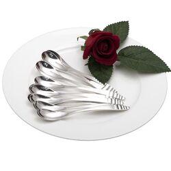 Zilveren theelepels art deco