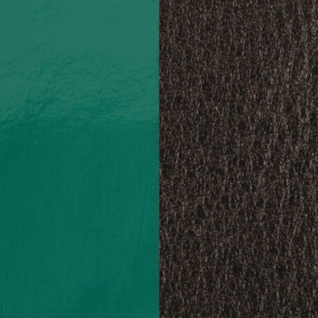 Les Georgettes 14 mm inlay zwart donker groen