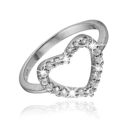 Christina ring Topaz Heart