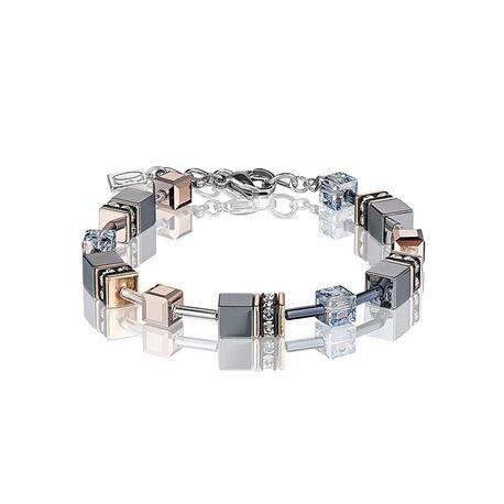 Coeur de Lion armband ijsblauw 4015-30-0730