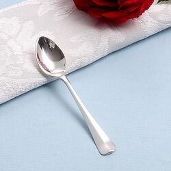 Zilveren mokkalepeltje Haags lofje 9cm