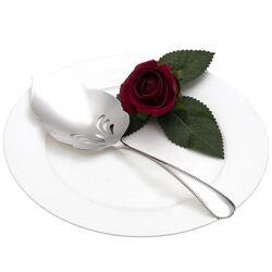 Parelrand zilveren natfruitlepel