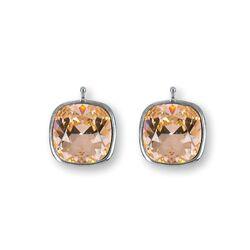 Heide Heinzendorff aanhangers licht roze Swarovski crystal E29